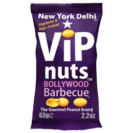 Vip Nuts - Bollywood Bbq (Peanuts) - 12x63G