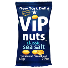 Vip Nuts - Classic Sea Salt (Peanuts) - 12x63g