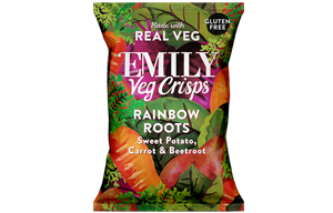Emily Veg Crisps - Mixed Roots - 12x23g