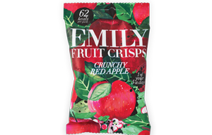 Emily Fruit Crisps - Crunchy Apple - 14x15g