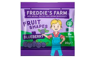 Freddies Farm - Fruit Shapes Blueberry - 16x20g