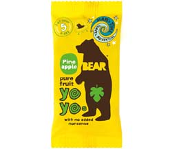 Bear Snacks - Yoyo'S - Pineapple - 18x20g