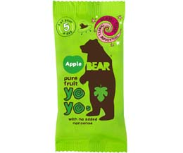 Bear Snacks - Yoyo'S - Apple - 18x20g