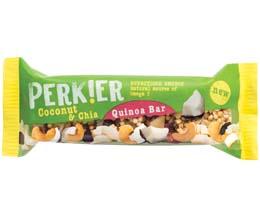 Perkier Quinoa Bar - Coconut & Chia - 18x35g