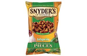 Snyders Pretzels - Jalapeno - 30x56g