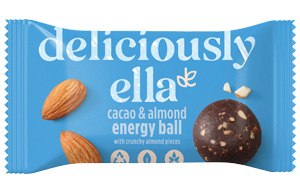Deliciously Ella Energy Ball - Cacao & Almond - 12x40g