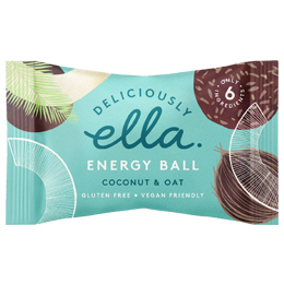 Deliciously Ella Energy Ball - Coconut & Oat - 12x40g