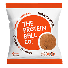 The Protein Ball Co - Cacao & Orange - Bags - 10x45g