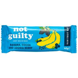 Not Guilty - Banana, Cocoa & Aronia Berry - 16x40g