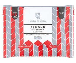 Dolce La Dolce - Almond, Cherry, Chia & Quinoa - 12x40g