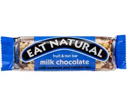 Eat Natural - Milk Choc, Peanut, Cranberries, Cash - 12x45g