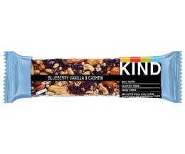 Kind Bar - Blueberry, Vanilla & Cashew - 12x40g