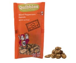 Quibbles - Mixed Peppercorn Peanuts - 28x30g