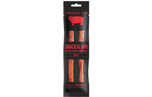 Serious Pig - Snackalami - Spicy - 12x30g