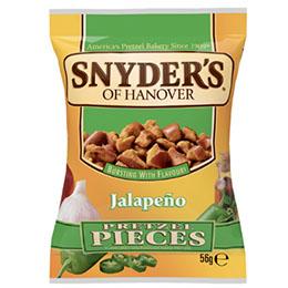 Snyders Pretzels - Pub Card - Jalapeno - 1x12