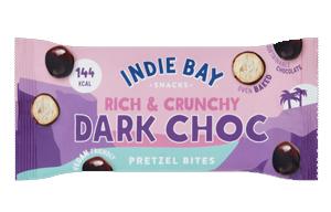 Indie Bay - Pretzel Bites - Dark Chocolate - 14x31g