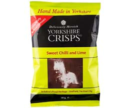 Yorkshire Crisp - Sweet Chilli & Lime - 24x40g