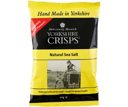 Yorkshire Crisp - Natural Sea Salt - 24x40g
