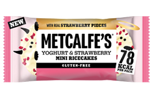 Metcalfes Mini Ricecakes - White Chocolate - 16x16G
