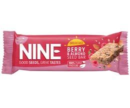 Nine Breakfast - Berry & Almond - 16x50g