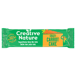 Creative Nature - Snack Bar - Carrot Cake - 20x38G