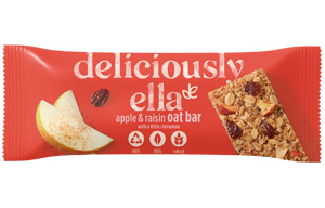 Deliciously Ella Oat Bar - Apple, Raisin & Cinnamon - 16x50g