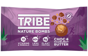 Tribe - Nature Bomb - Choc & Hazelnut Butter -12x40g