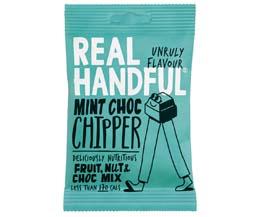 Real Handful - Trail Mix - Mint Choc Chipper - 12x35g