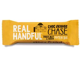 Real Handful - Choc Orange Chase Protein Trail Bar - 20x40g
