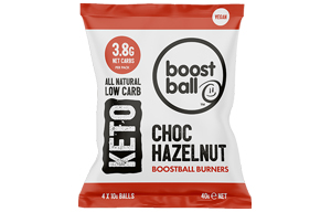 Boost Ball - Chocolate Hazelnut Keto -12x40g