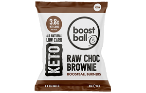 Boost Ball - Raw Chocolate Brownie Keto -12x40g