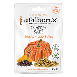 Filberts - Turmeric & Black Pepper Pumpkins Seeds - 20x25g