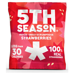 5Th Season - Freeze Dried Bites - Strawberry - 6x8G