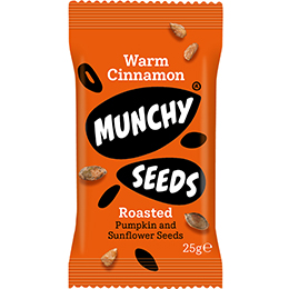 Munchy Seeds - Warm Cinnamon - 12x25g