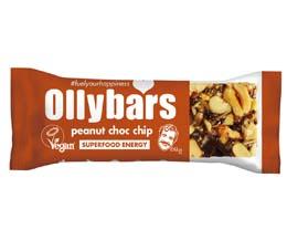 Olly Bars - Peanut Choc Chip - 20x60g
