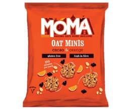 Moma - Oat Minis - Cacao & Orange - 14x27G