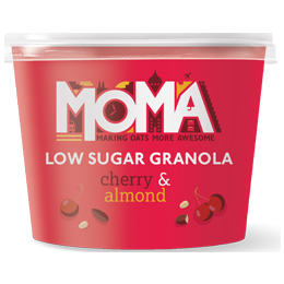 Moma Granola Pot - Cherry & Almond - 12x50g