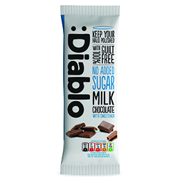 Diablo - No Added Sugar Milk Chocolate - 15x85g