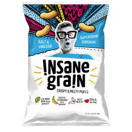 Insane Grain - Salt & Vinegar - 16x24g