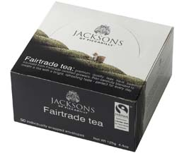 Jacksons Of Piccadilly Enveloped - Fairtrade Black Tea - 6x50