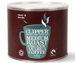 Clipper - Arabica Coffee - 1x500g Tub
