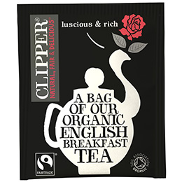Clipper Enveloped - 250's - F/T Organic English Breakfast - 1x250