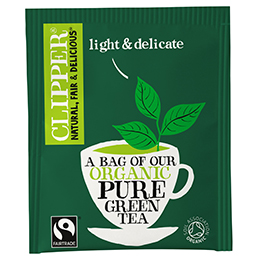 Clipper Enveloped - 25 - F/T Organic Pure Green Tea - 6x25