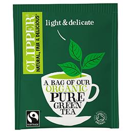 Clipper Enveloped - 25 - F/T Organic Pure Green Tea - 6x25