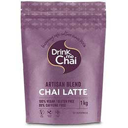 Drink Me Chai - Artisian Chai Spiced Latte (Block Bottom Bag) - 1x1kg