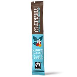 Clipper Sticks - F/T Organic Instant Arabica Coffee - 1x200
