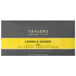 Taylors Tea - Lemon & Ginger (Bags) - 1x100