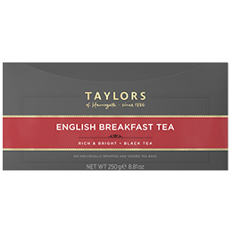 Taylors Tea - English Breakfast (Bags) - 1x100