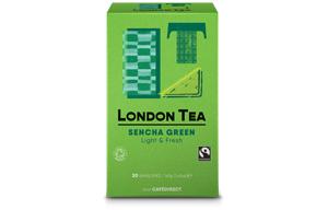 London Tea Enveloped - 20's - Sencha Green Tea - 6x20