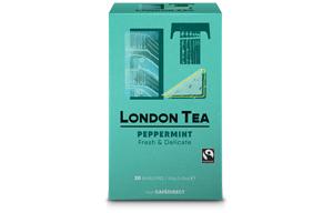 London Tea Enveloped - 20's - Pure Peppermint - 6x20